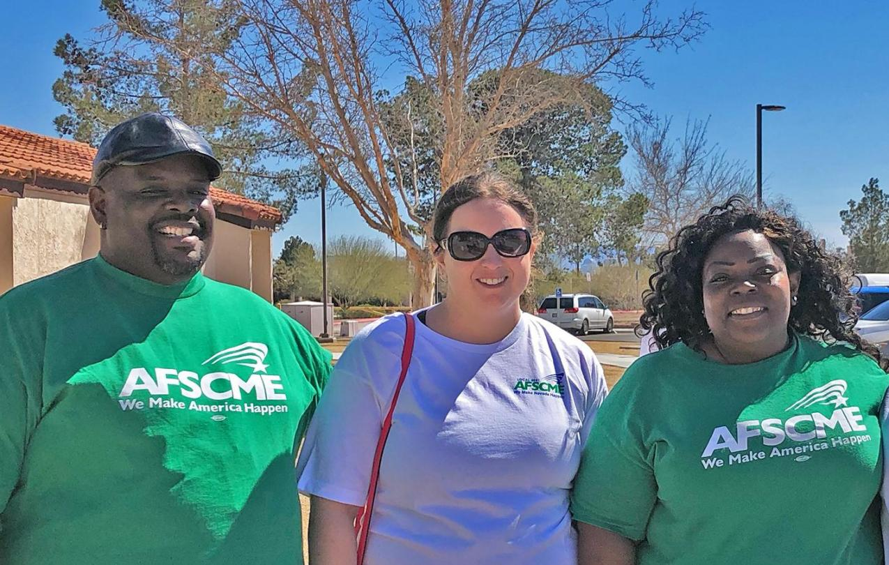 AFSCME Local 4041 Members in Las Vegas find strength in numbers to stop scheduling changes at their worksite