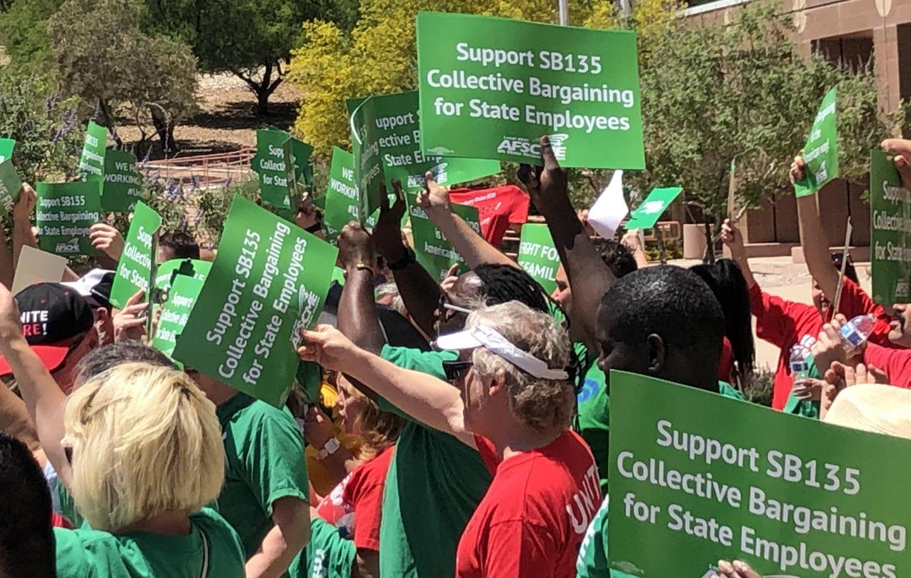 SB135 passes out of the Nevada State Legislature, on its way to becoming law AFSCME Local 4041