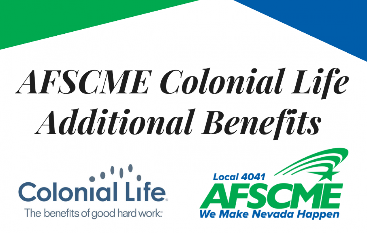 AFSCME Local 4041 and Colonial life partner to bring members additional benefits