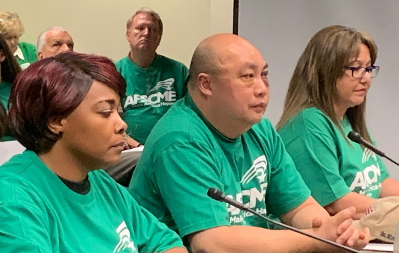 AFSCME Local 4041 Members in Las Vegas in support of SB135, a bill to allow for collective bargaining rights for state employees