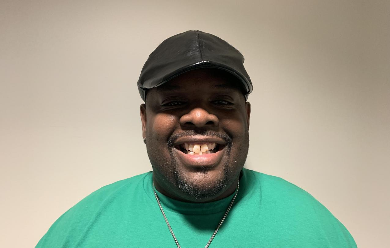 AFSCME Local 4041 member Ken Edmonds in support of SB135 collective bargaining rights for state employees