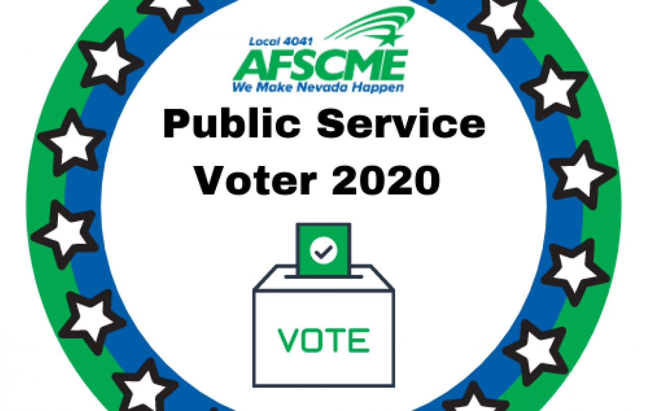 AFSCME Local 4041 Public Service Voter 2020