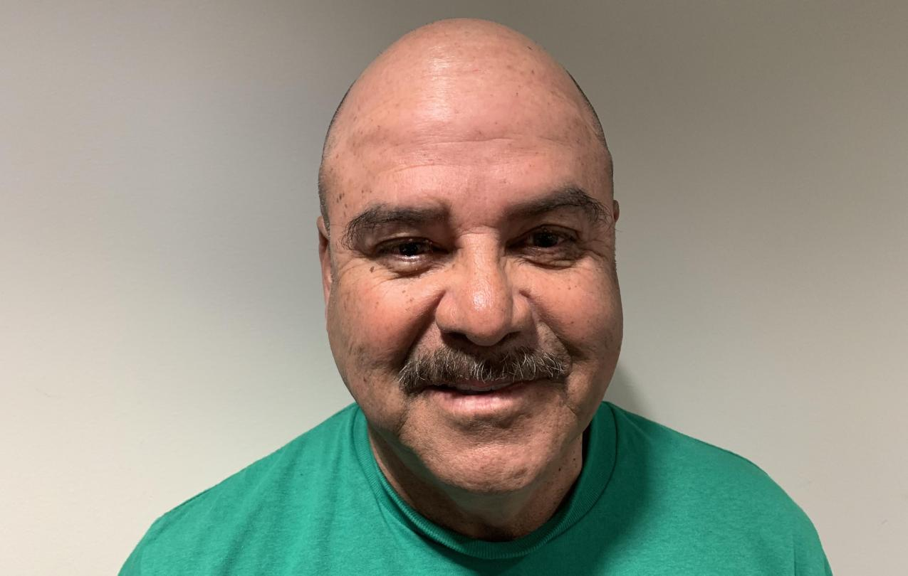 AFSCME Local 4041 member Victor Avena in support of SB135 collective bargaining rights for state employees