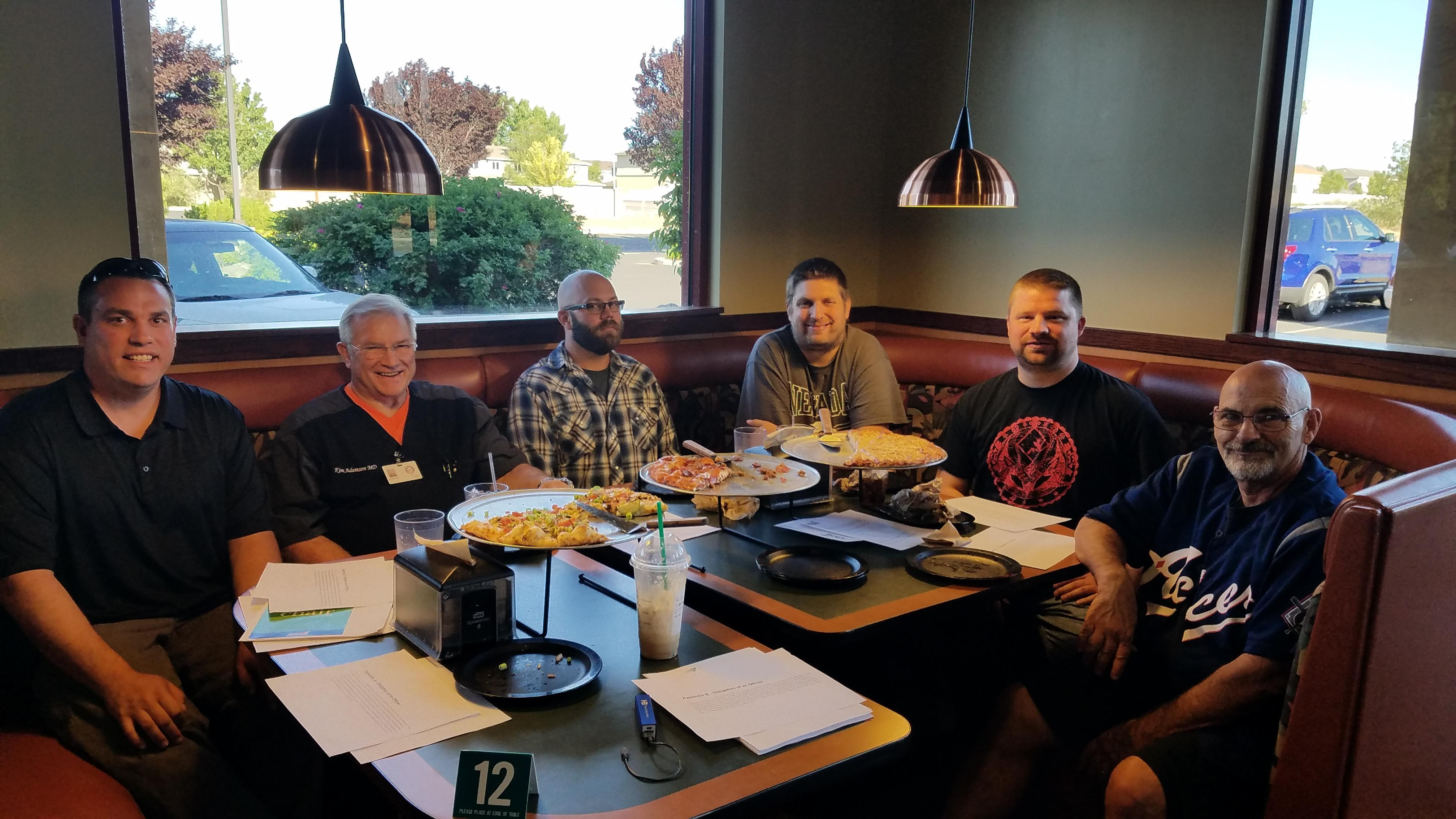 AFSCME Local 4041 Corrections Big Meadows Chapter Executive Board