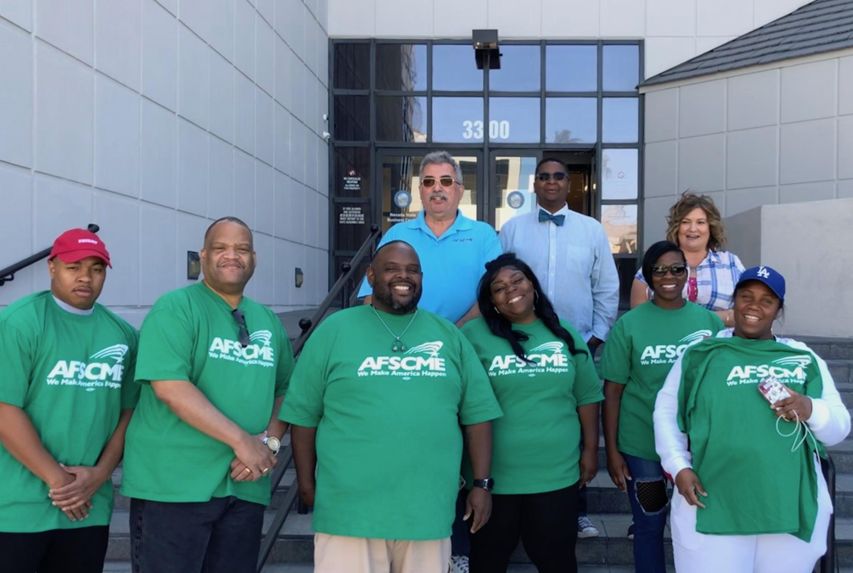 AFSCME Local 4041 health care support workers file for collective bargaining recognition
