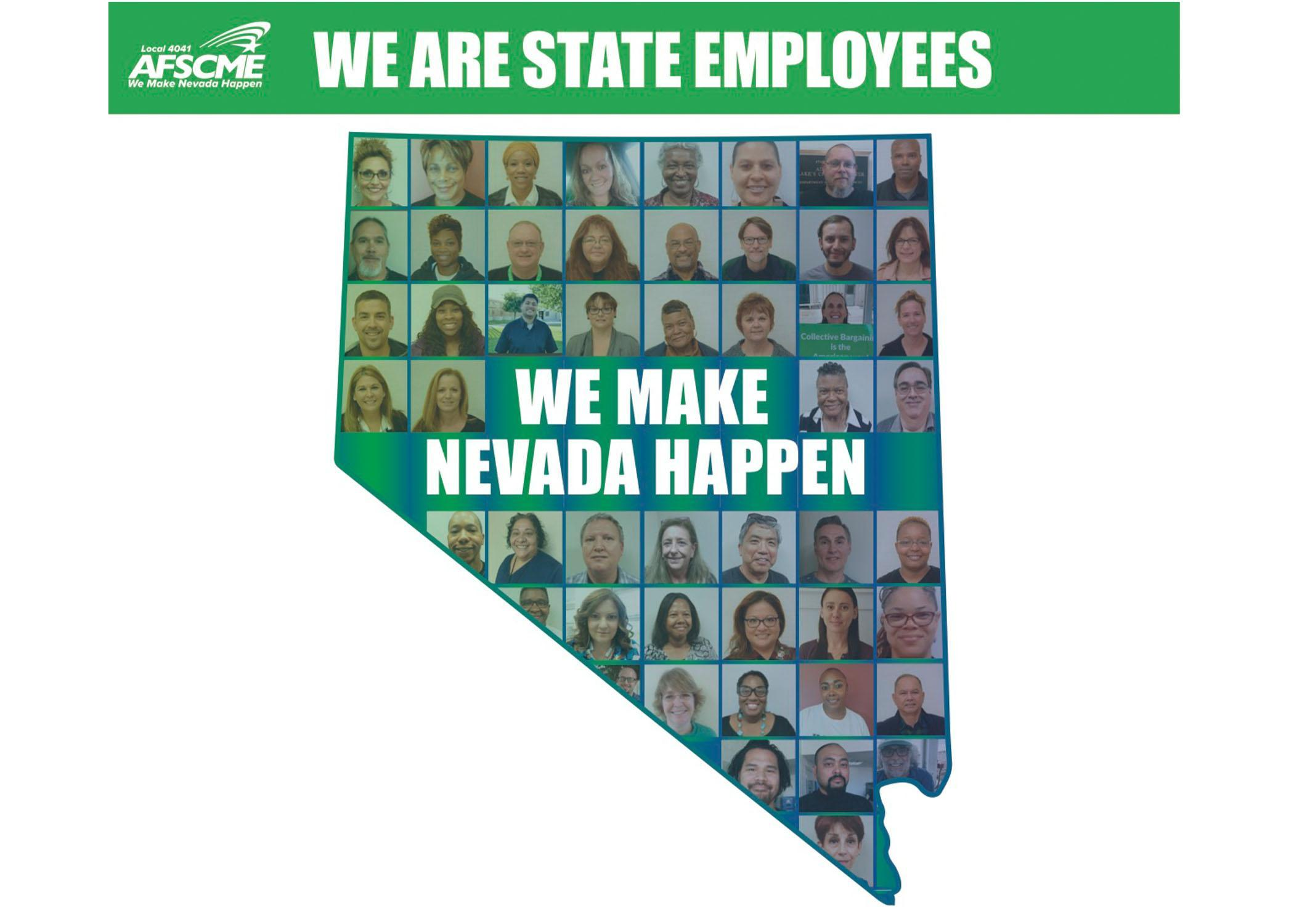 AFSCME Local 4041 We are state employees we make nevada happen collective bargaining SB135