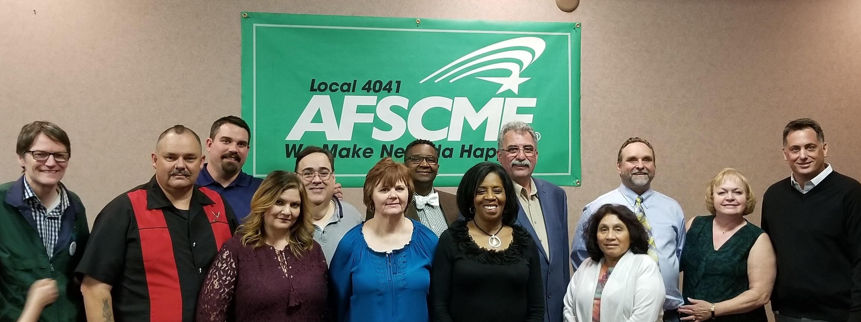 Local 4041 members