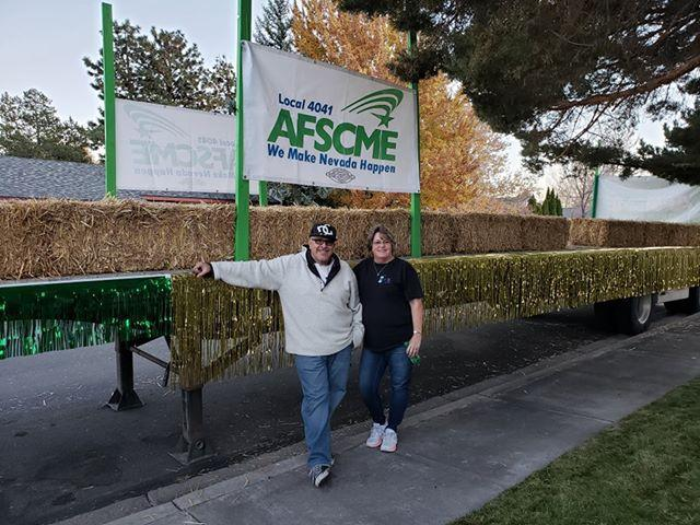 AFSCME Local 4041 members at the 2019 Nevada Day Parade in Carson City.